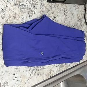 Lululemon royal blue yoga leggings